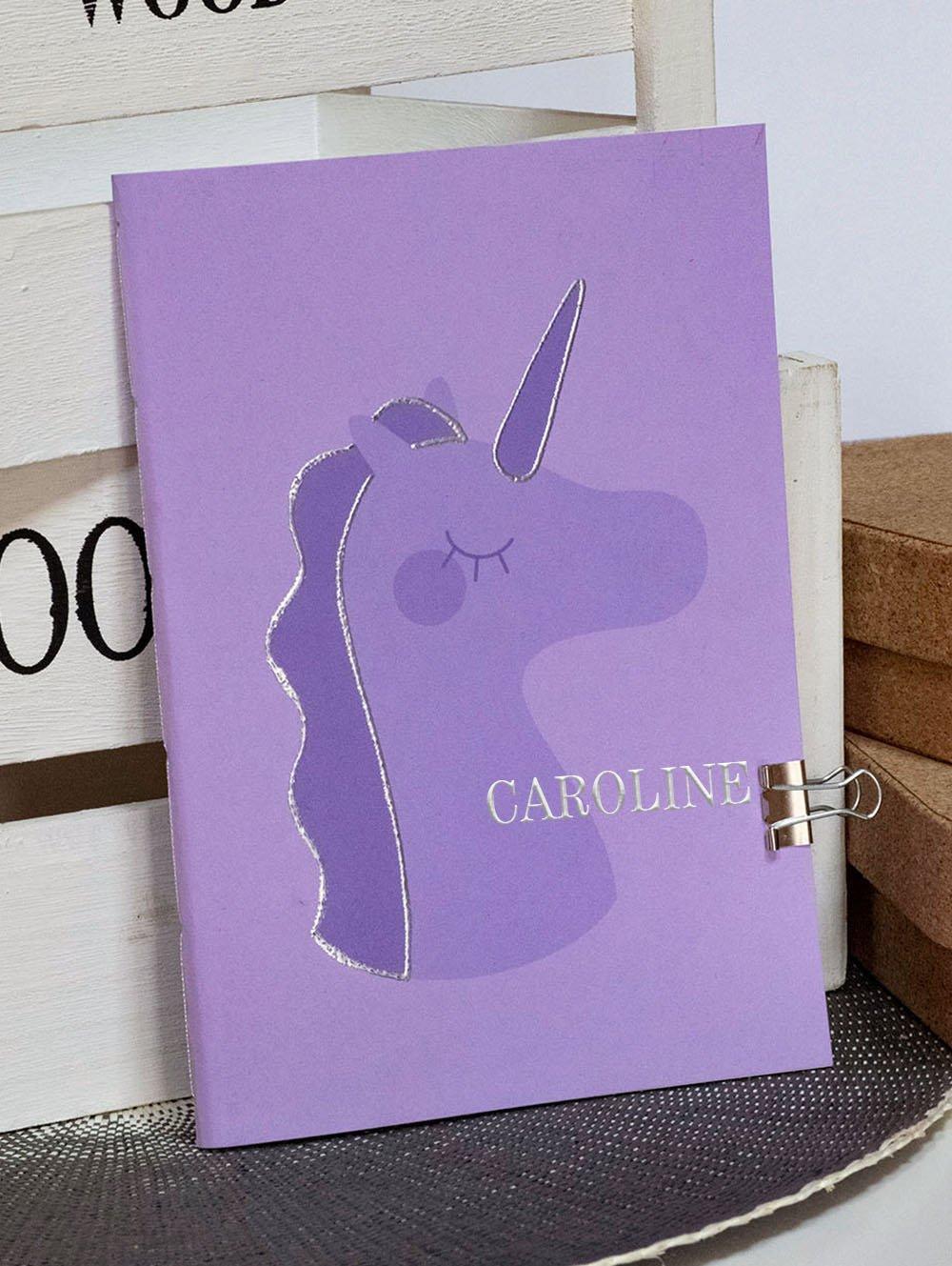 Carnet A5 Pouffie - Violet