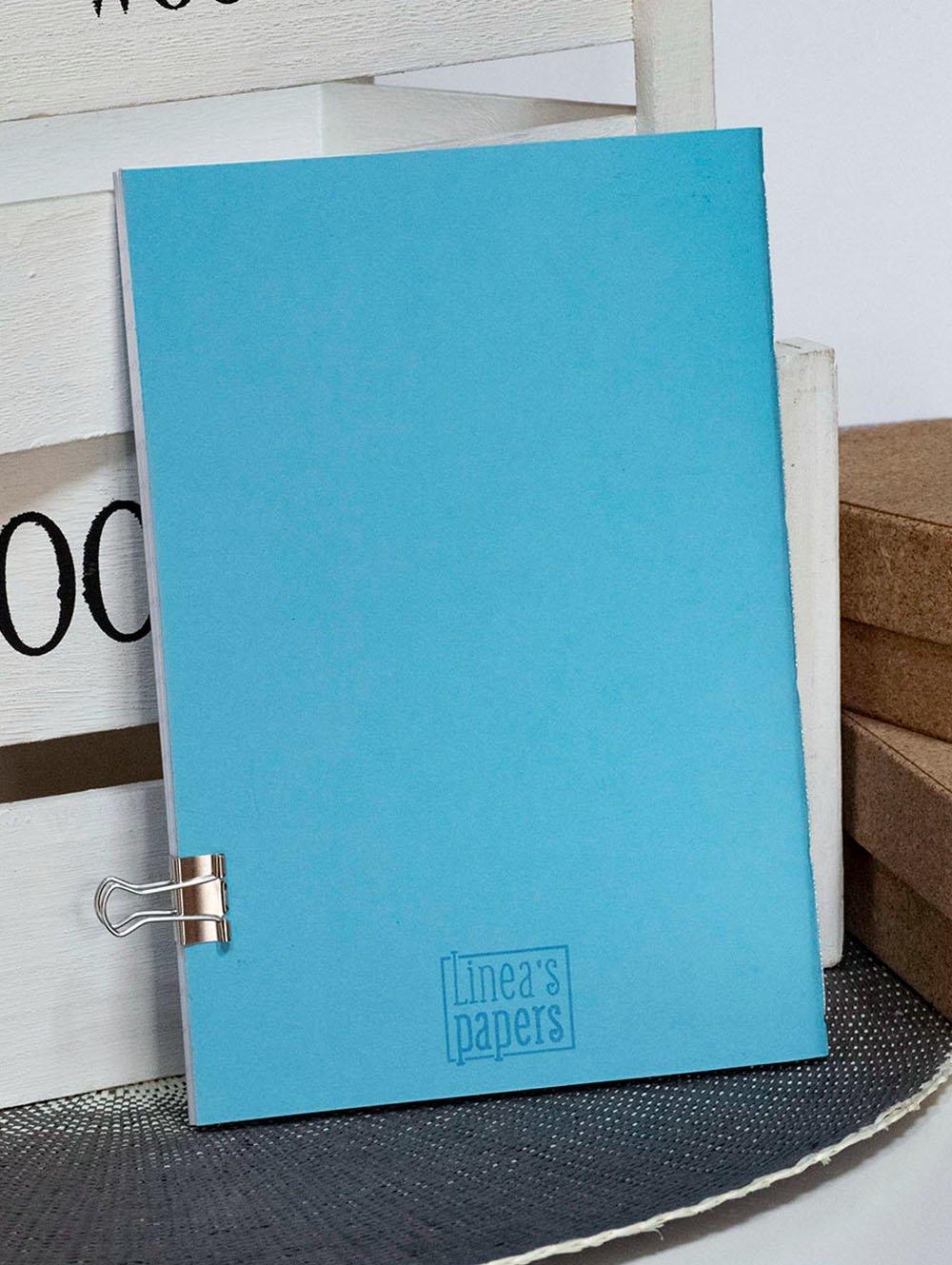 Carnet A5 Pouffie - Bleu