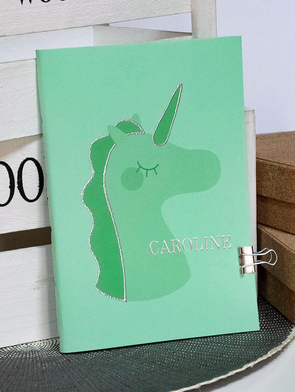 Carnet A5 Pouffie - Vert
