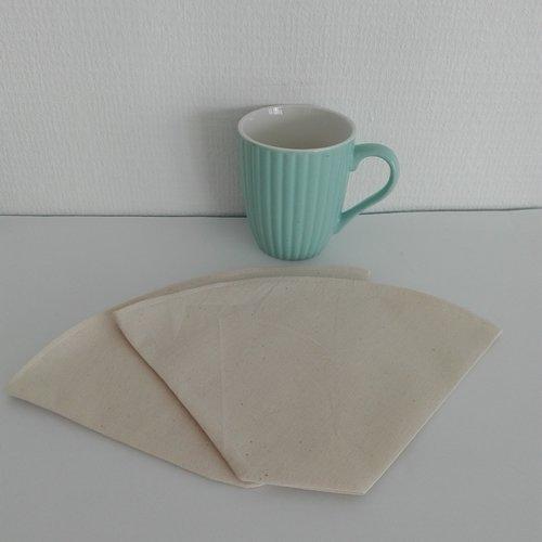 Filtre à café  n° 6 réutilisable lavable zéro déchets