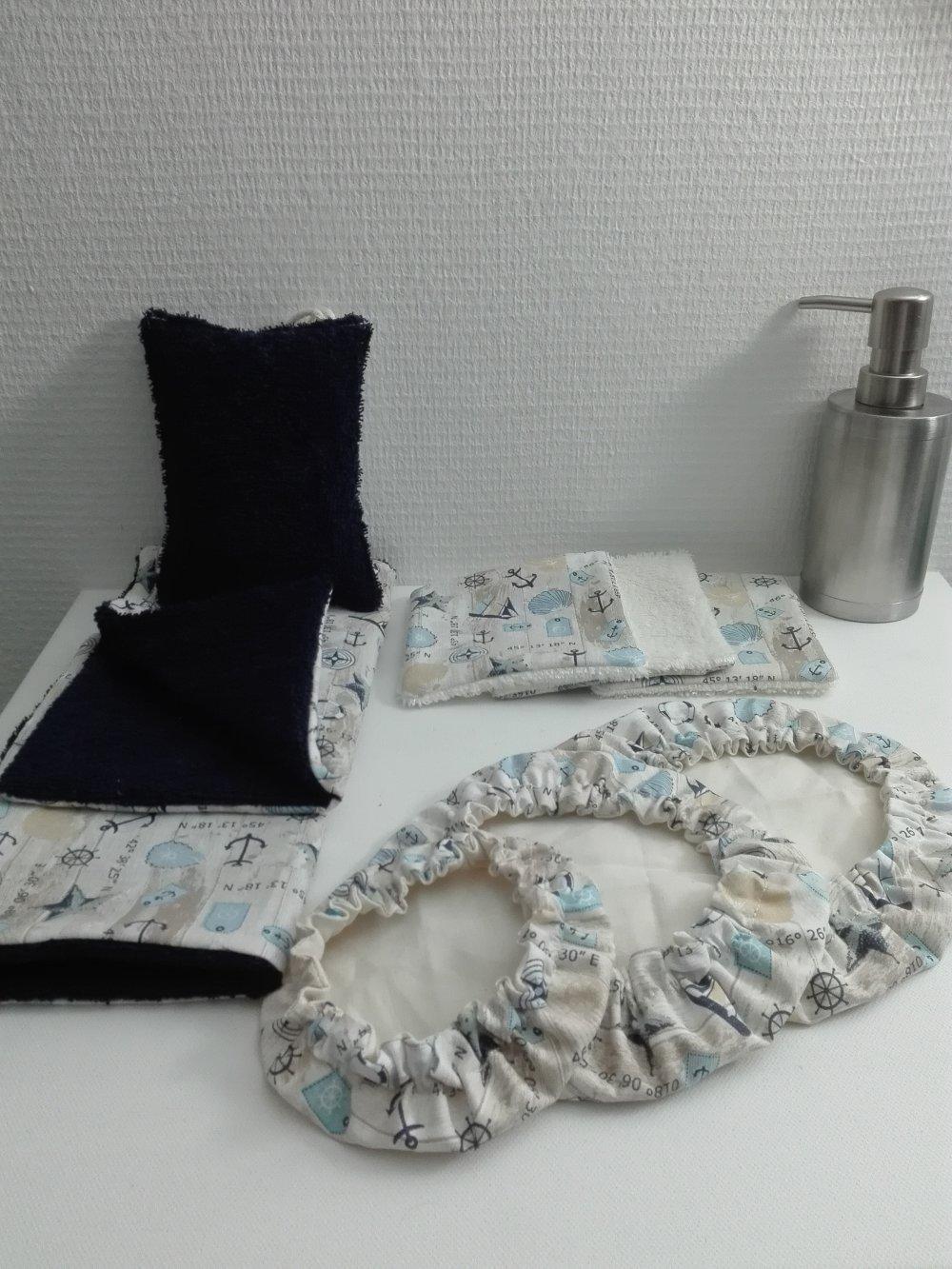 VENDU box Zéro déchets ensemble découverte réutilisable lavable Idée cadeau pour noël