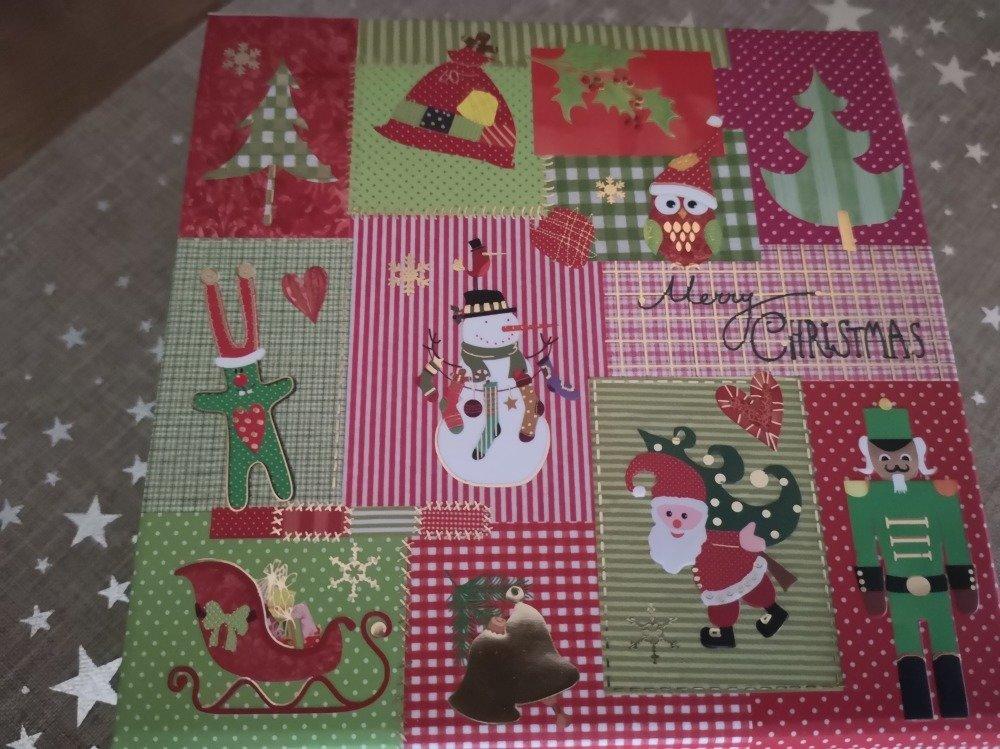 Boîte (petit format) emballage pour cadeaux de Noël
