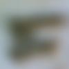 20 perles intercalaires effet double rondelle, 6 x 3 mm, métal couleur bronze, trou : 2,6 mm