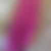 10 perles forme larme ou goutte en verre violet fuchsia,  13 x 8 mm, trou 1,3 mm