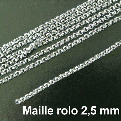 5 mètres de de chaîne maille JASERON
