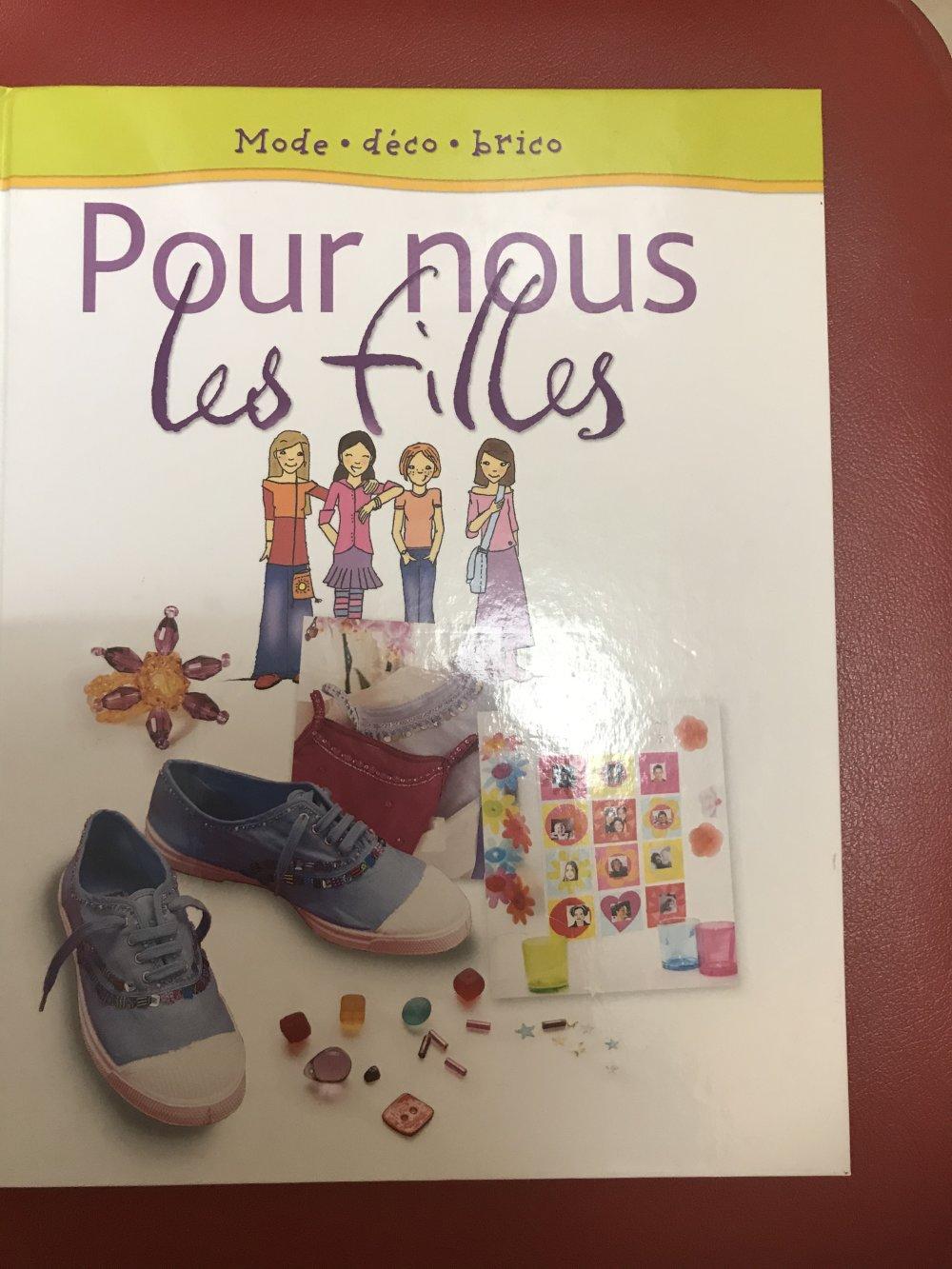 livre pour nous les filles