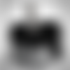 Tour de cou enfant garçon gris noir - requins - 3-5ans