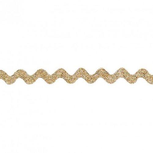 Serpentine croquet doré
