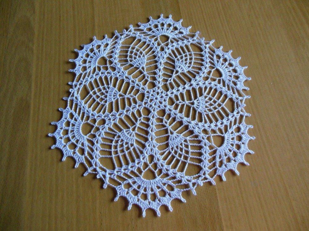 """Napperon crochet """"Albane"""""""