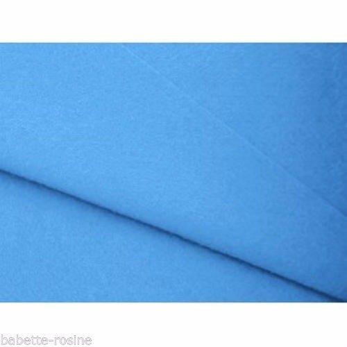 ** 20 x 30 cm ** turquoise - feuille coupon tissu feutrine - épaisseur 1,5 mm