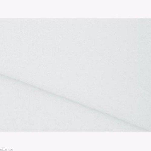 ** 20 x 30 cm ** blanc - feuille coupon tissu feutrine - épaisseur 1,5 mm