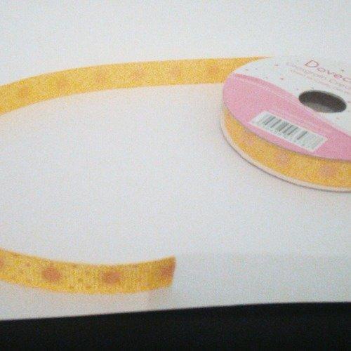 Ruban jaune 10mm
