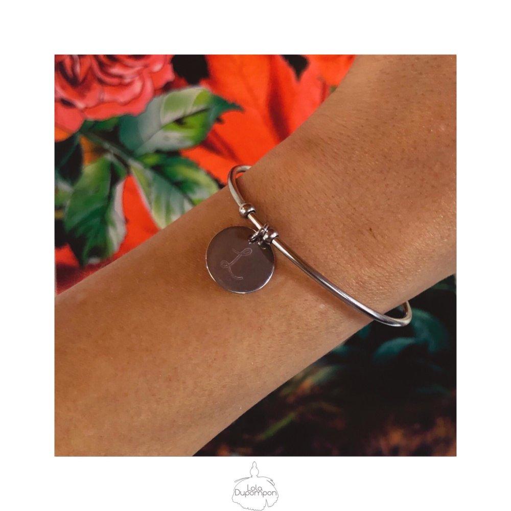 Bracelet Personnalisé Noémie Initiale