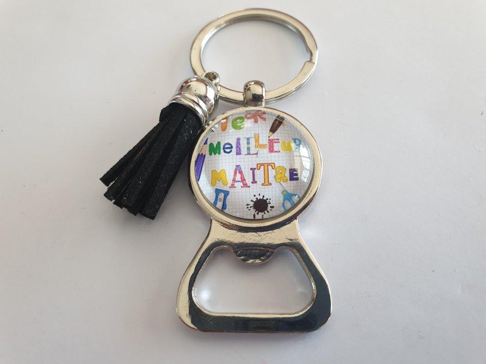 porte clés décapsuleur maître, porte clés le meilleur maître