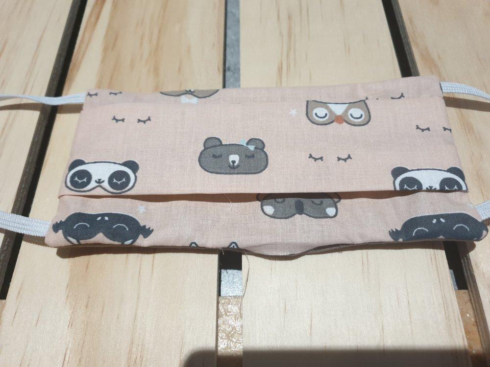masque protection enfant lavable, masque tissu lavable pour enfant