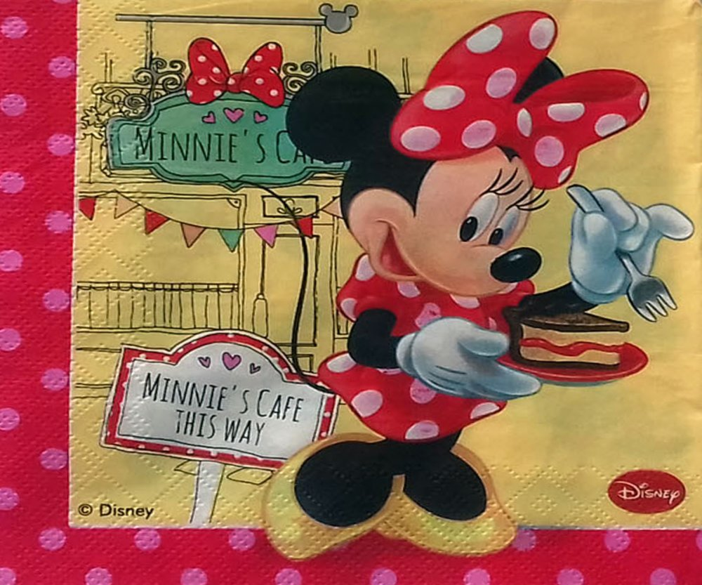 """300 """" serviette en papier""""  minny & friandises"""