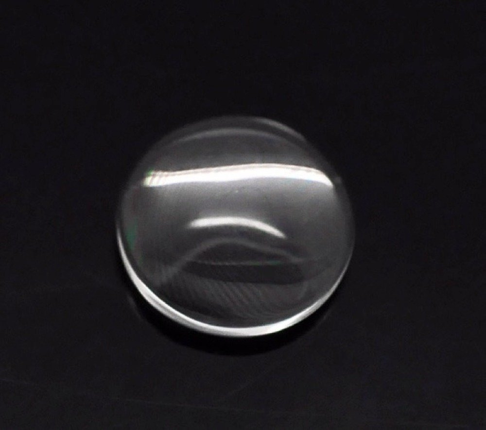 10 cabochons verre 12 mm de diamètre
