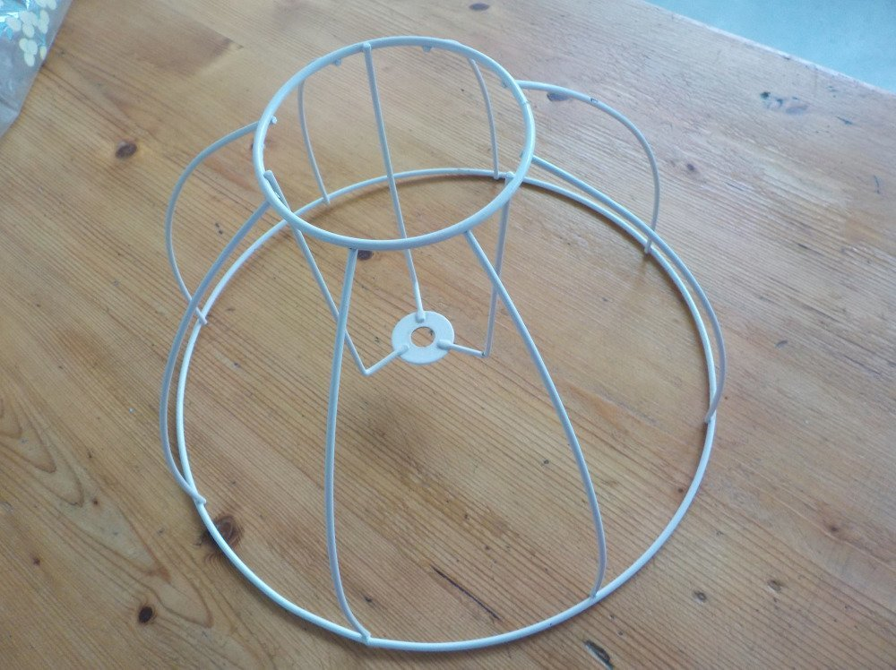 Armature  d'abat-jour structure ronde