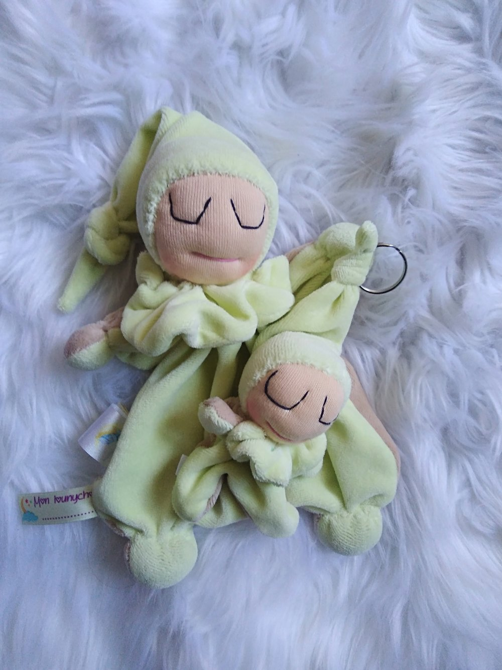 Coffret naissance vert anis