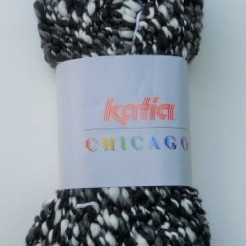 Laine katia chicago - une pelote = une écharpe