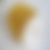 1 mètre de chaine à maillon doré 3x2mm, chaine doré