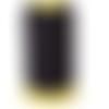 1 mètre de fil soie noir 0.5 mm de diamètre