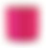 1 mètre de fil nylon rose 0.8 mm de diamètre