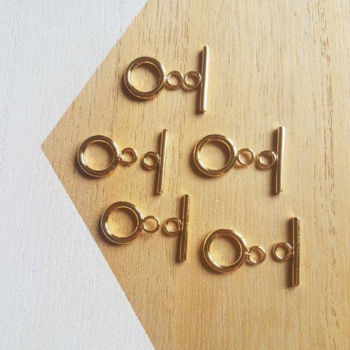 5 fermoirs acier inoxydable, fermoirs doré acier inoxydable toggle