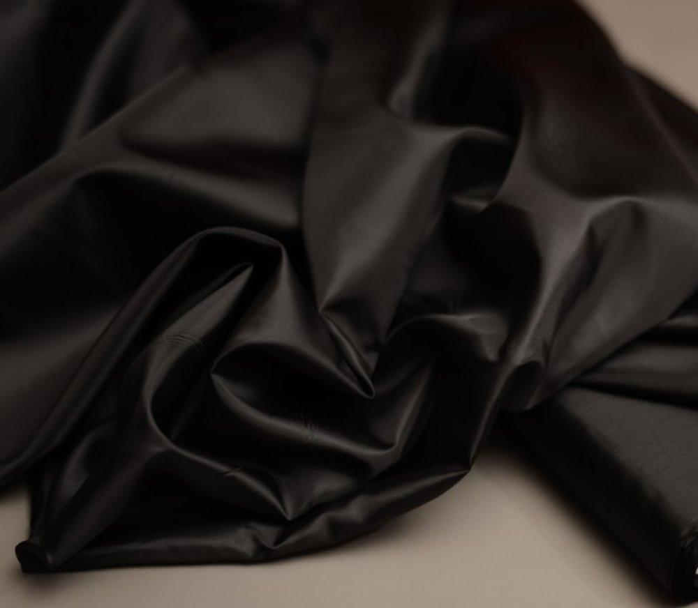 Doublure Noir 100% Polyester au metre