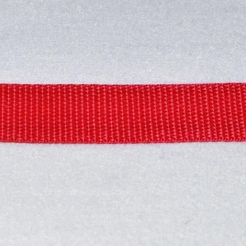 Sangle 50 mm - rouge - polypropylene - coupe au mètre - qualité extra