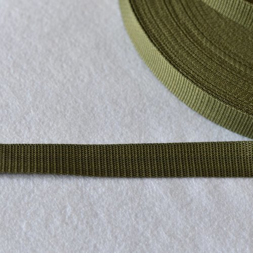 Gris Anthracite 30 mm Sangle Polypropylene au mètre Qualité extra