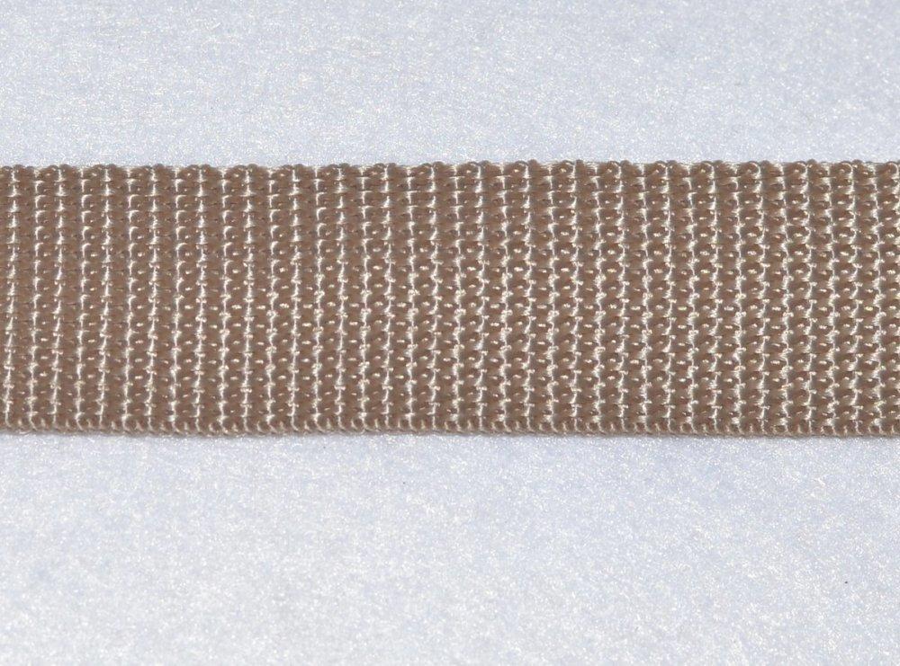 Sangle 40 mm - Beige - Polypropylene - Coupe au mètre - Qualité extra