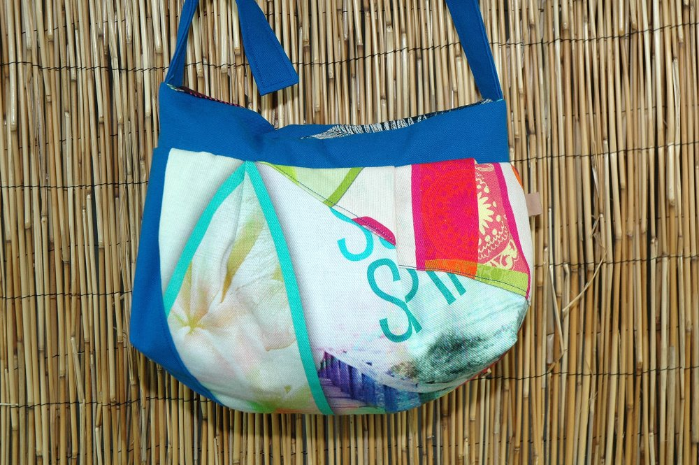 Sac Besace Tissus Patchwork Collection Lola 3918