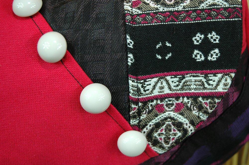 Sac Petite Minaudière Petites Filles Tissus Patchwork Réf 3281