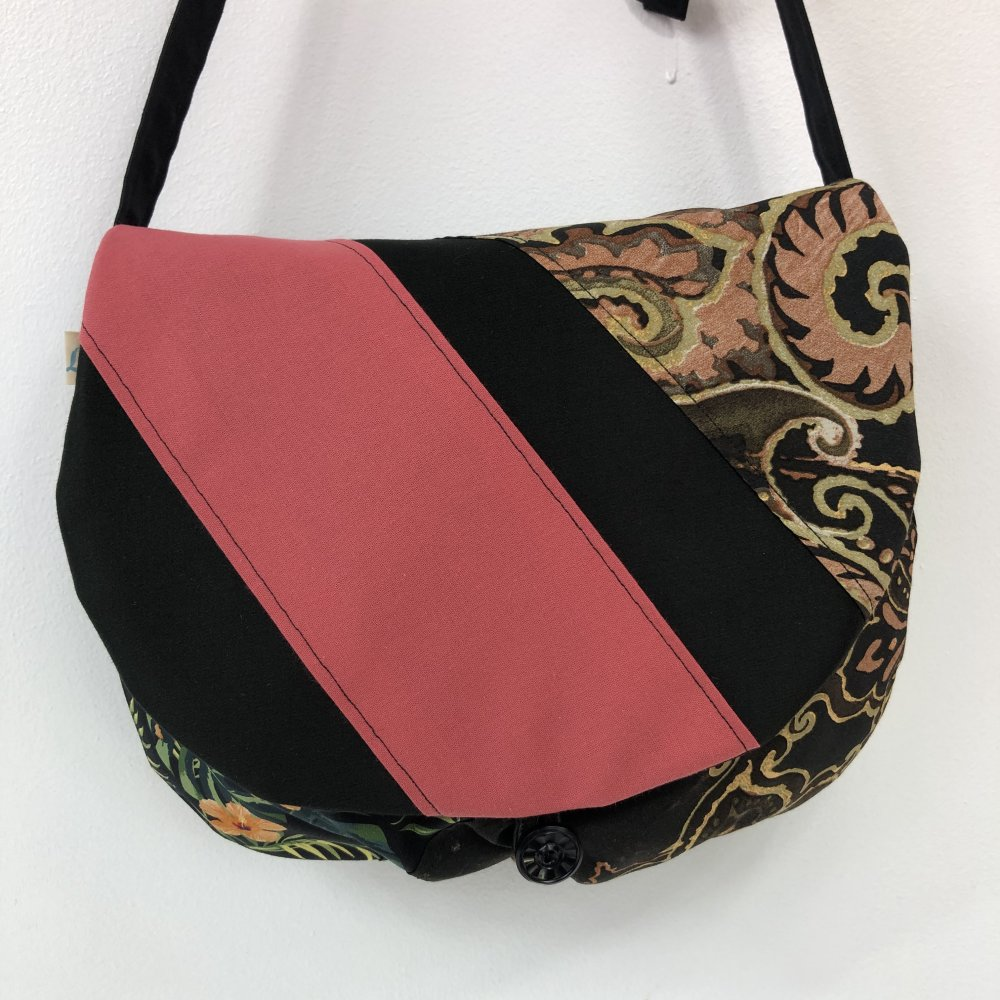 Sac Besace Tissus Patchwork Collection Lyna Réf 1333