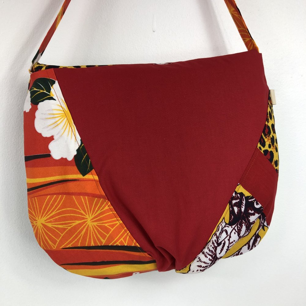 Sac Besace Tissus Patchwork Collection Lyna Réf 1080
