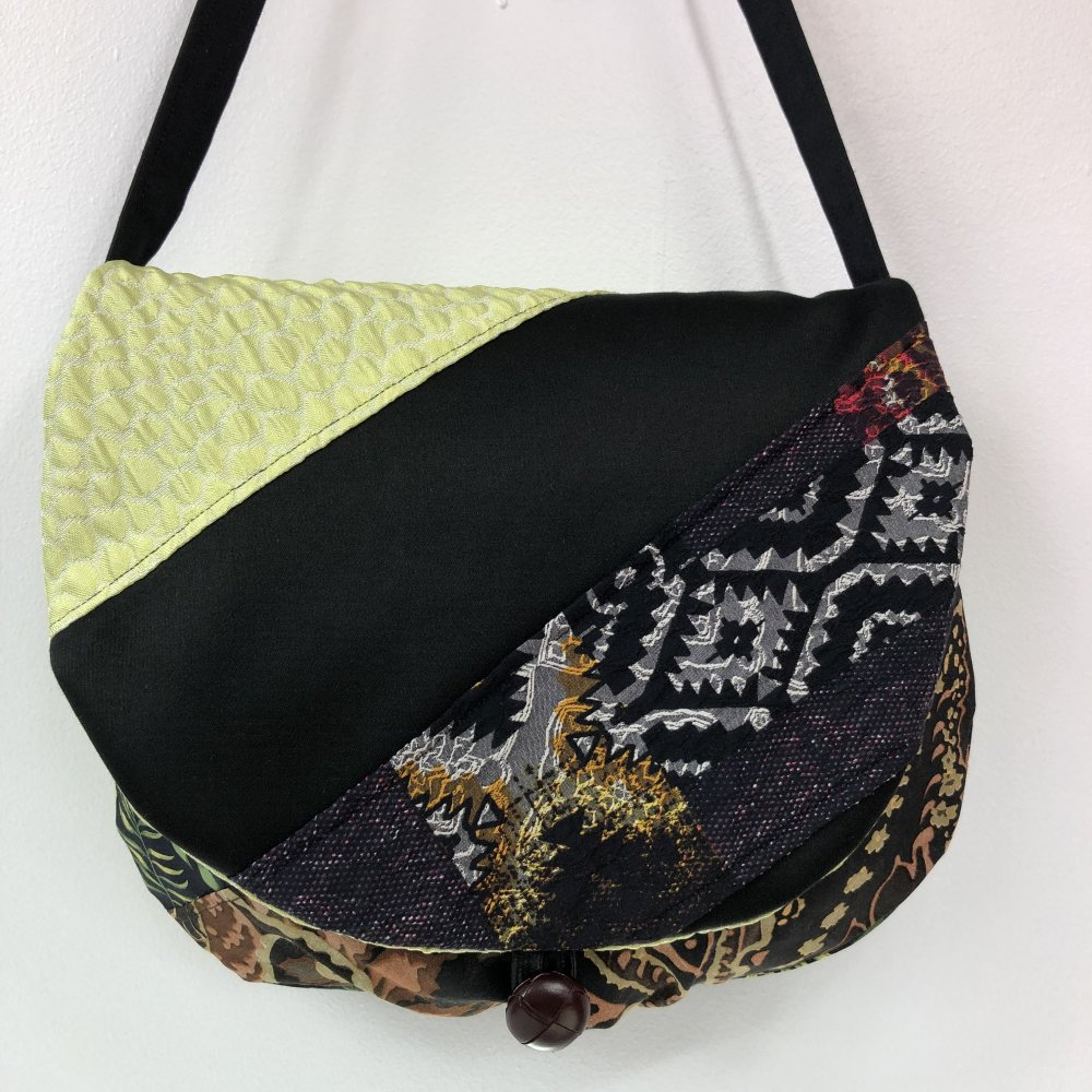 Sac Besace Tissus Patchwork Collection Lyna Réf 1337