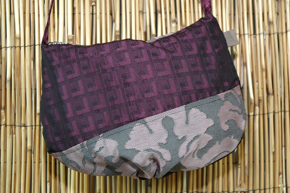 Sac Petite Minaudière Tissus Patchwork Collection Lina Réf 1658