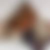 Echarpe tubulaire /snood tissus réversible réf 1963