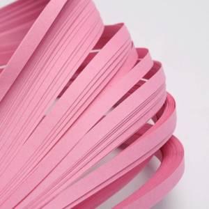120 bandes de papier QUILLING 5mmx52cm ROSE CLAIR Loisirs créatifs DIY déco