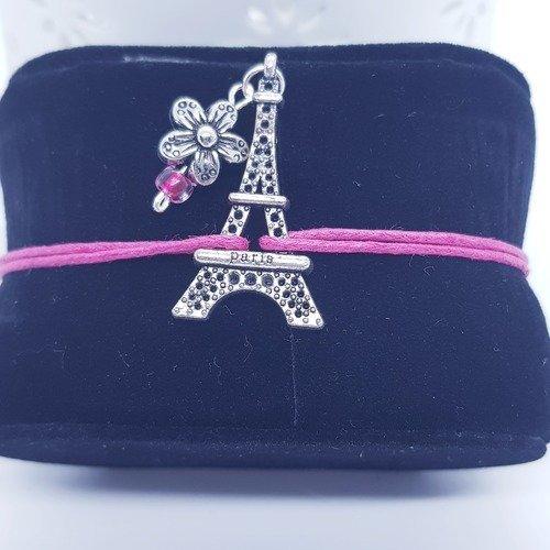 """Bracelet """" mon petit paris """""""