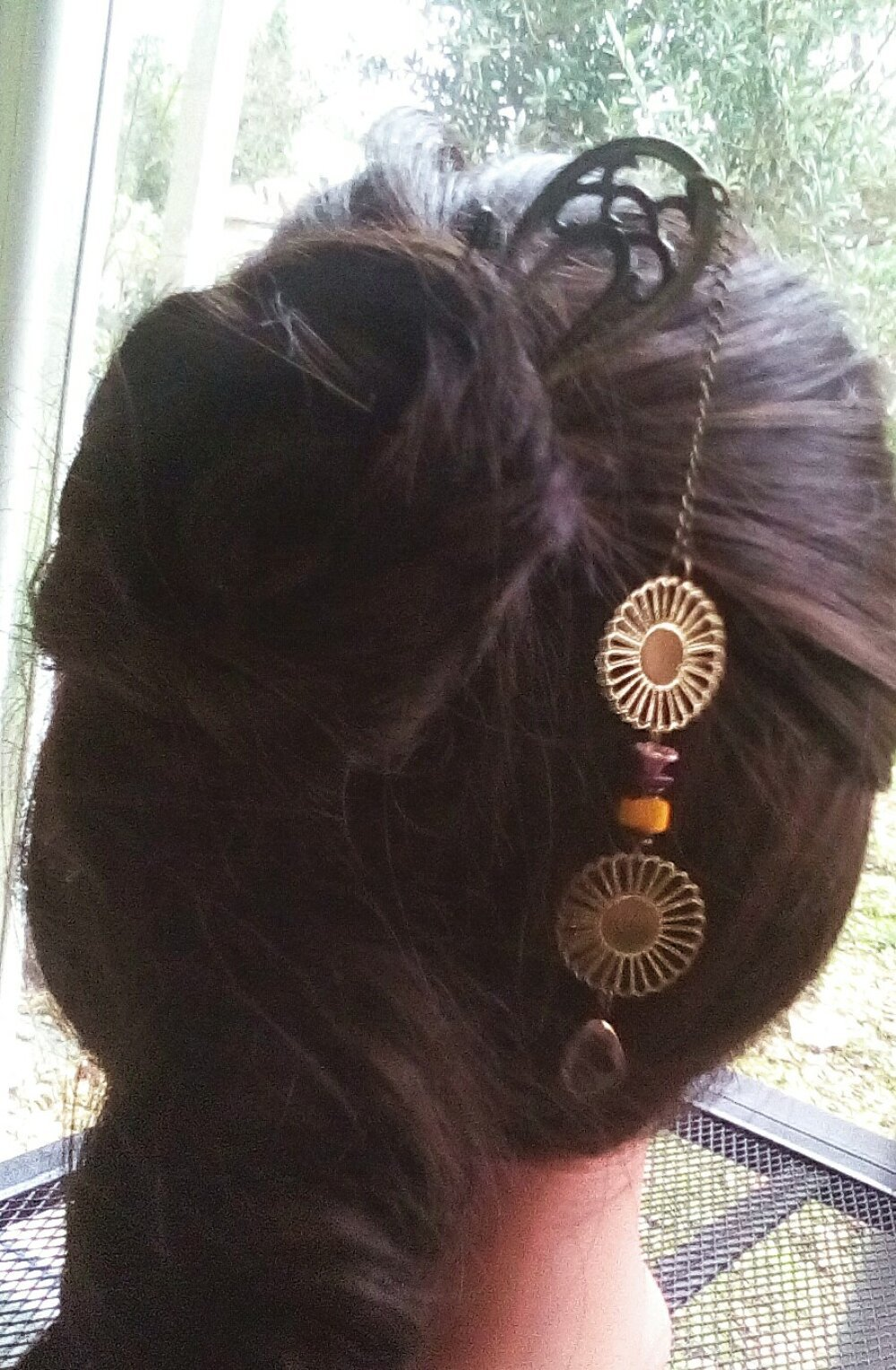 Pic rétro, pic à chignon mariage,pic à cheveux,pic à chignon japonisant