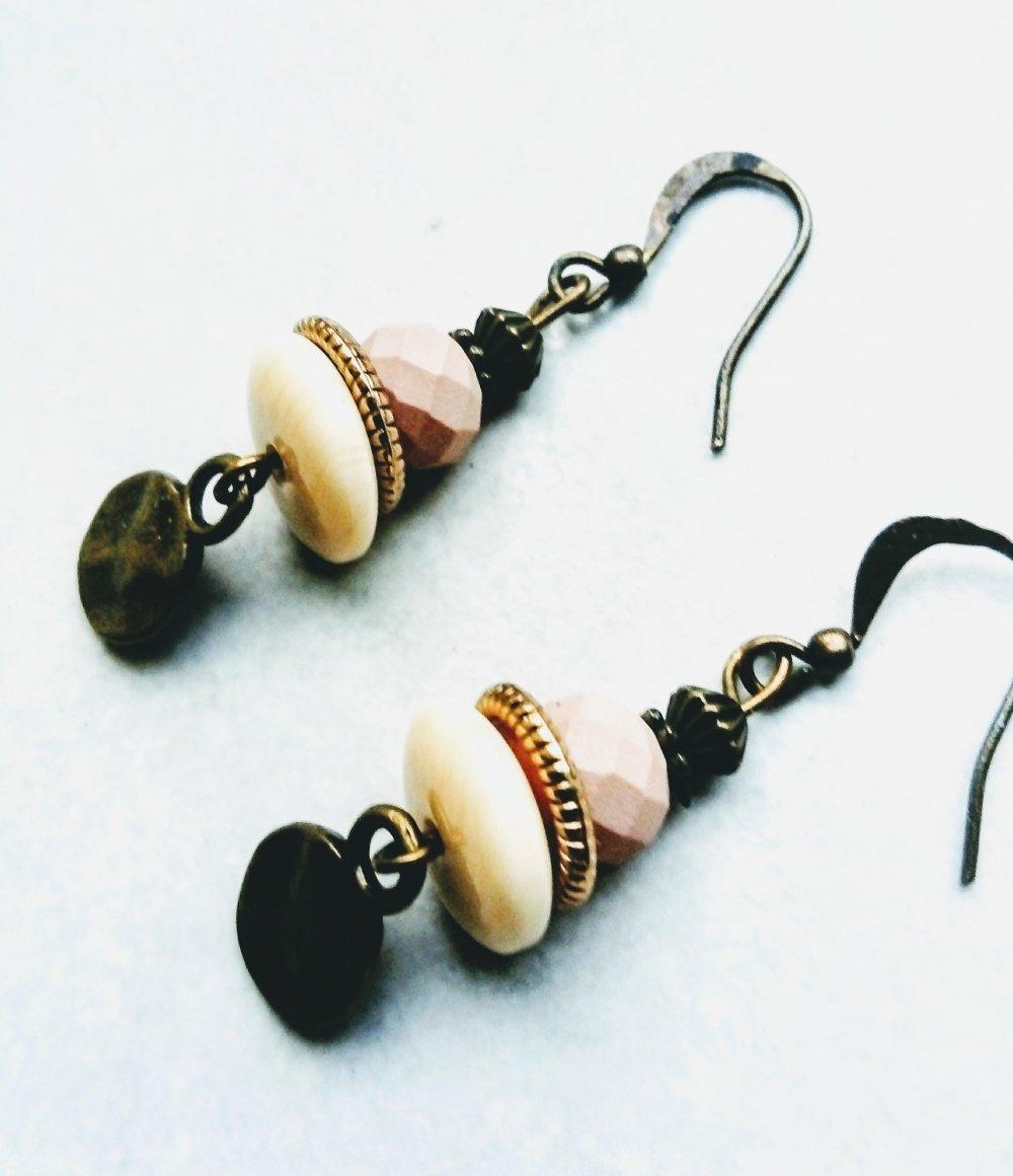 Boucles d'oreilles rétro