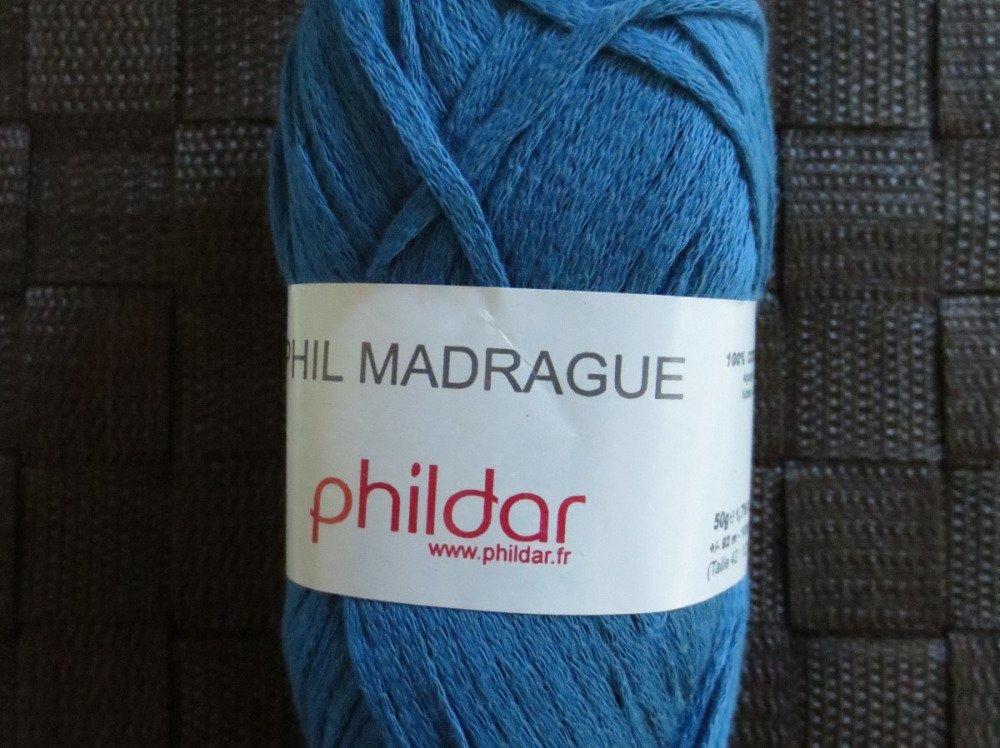 Pelote 50g laine Phildar Phil Madrague coloris Touareg #500120 0008 bain 103