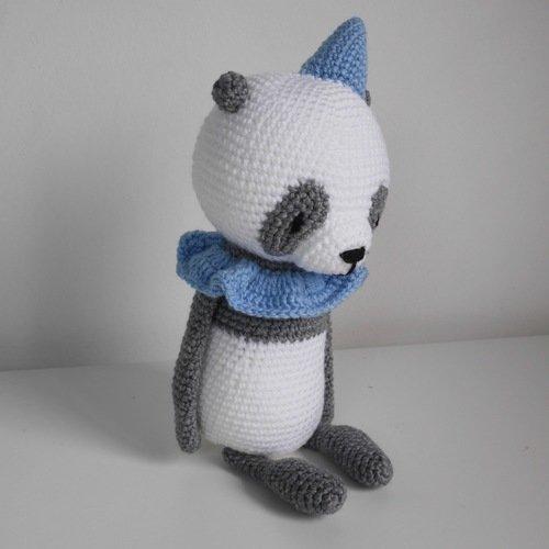Giant Panda 22 inches - PDF amigurumi crochet pattern | Bichinhos ... | 500x500