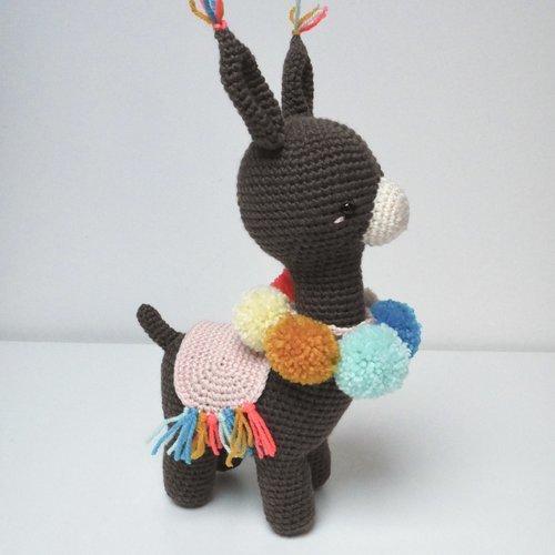 Amigurumi lapin tricot 1/3 / Miss Bunny amigurumi knit (english ... | 500x500