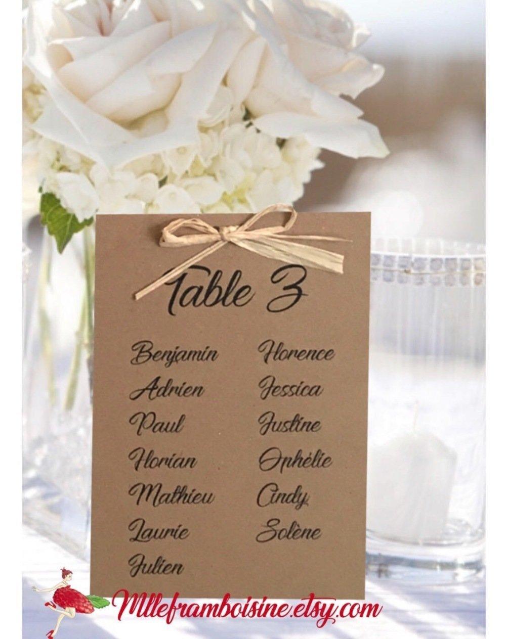menu en bois personnalis/é mariage bapt/ême communion retraite anniversaire champ/être coeur alliance