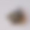 Pendentif/breloque éléphant (bronze) 12x12 mm -