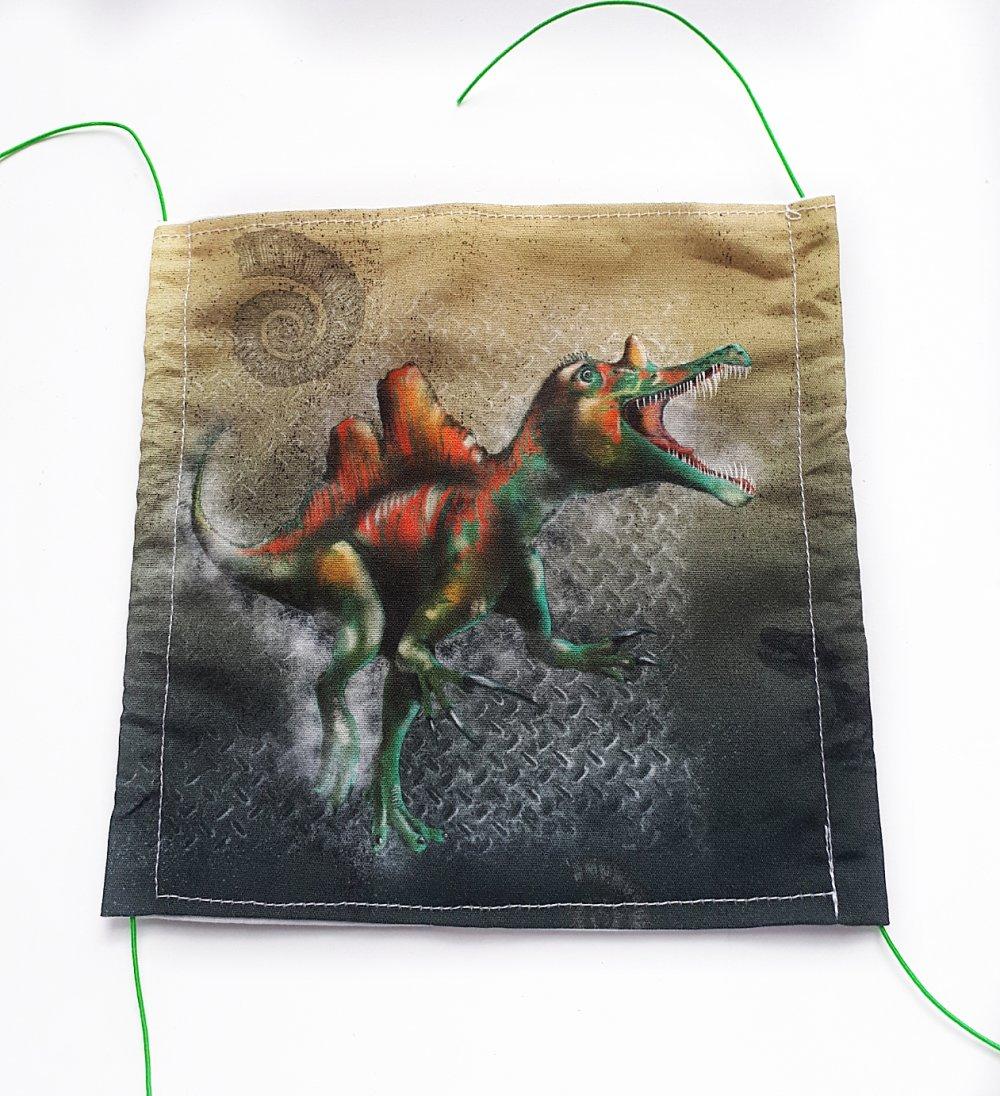 Dragon tissu polaire-Vendu par Mètre