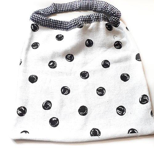 Serviette de table enfant, serviette de cantine, grand bavoir élastiqué, tissu et éponge